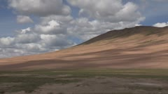 Mongolia: Desert Hills Stock Footage
