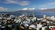 Reykjavik city, Iceland, Europe Stock Footage