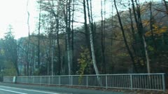 Timelapse Harz drive 20111106 144322p5 Stock Footage