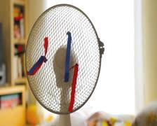 Electric Wind Fan PAL Stock Footage
