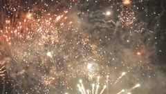 Firework Display - stock footage