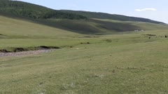 Mongolia: Steppes of Mongolia Stock Footage