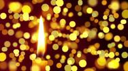 Stock Video Footage of candle light with bokeh
