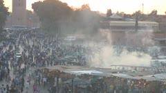 Jemaa el Fna Marrakech Stock Footage