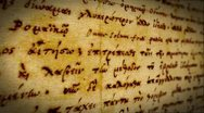 Ancient Writing Background Stock Footage