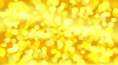 Moving christmas background with bokeh Stock Footage