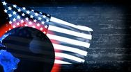 Stock Video Footage of USA Banner Background - USA 13 (HD)