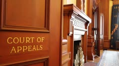 Historic Court of Appeals in Downtown Portland Oregon Stock Footage