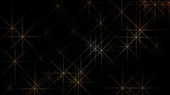 Shine xmas stars Stock Footage