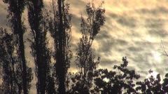 Beautiful sunset Stock Footage