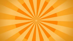 Retro background / orange / hd loop - stock footage
