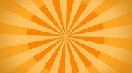 Stock Video Footage of Retro background / orange / hd loop
