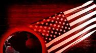 Stock Video Footage of USA Banner Background - USA 12 (HD)