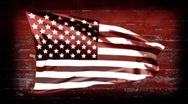 USA Banner Background - USA 09 (HD) Stock Footage