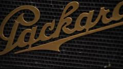 Classic Packard Details - stock footage