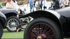 On the Field at the Concours d'Elegance Stock Footage