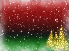 Christmas Dream Trees Loop - SD Stock Footage