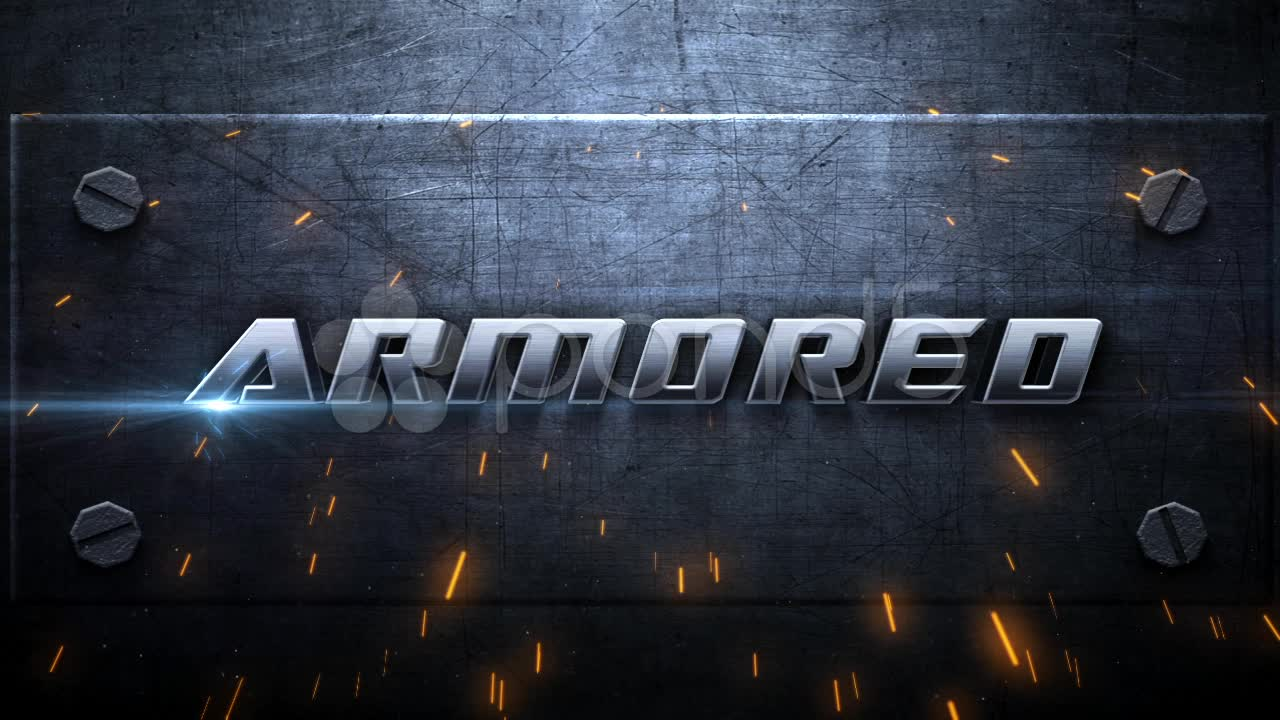 After Effects Project - Pond5 Armored Intro 8963226