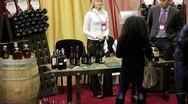 Timelapse 1080p: Presentation and degustation of wine Stock Footage