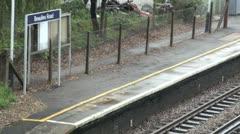 Beaulieu Road Railway Station Stock Footage