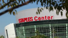 Staples Center 01 HD Arkistovideo