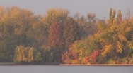 Beautiful lake Stock Footage