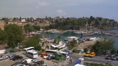 Bay in Antalia Stock Footage