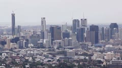 Mt Coot-tha Lookout 2 Stock Footage