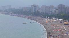 Antalya Beach Stock Footage