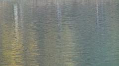 Beautiful water reflection peace sea ocean  - stock footage