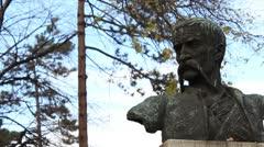 Monument to Stevan Sinđelić (Skull Tower) _1 Stock Footage