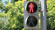 Traffic lights 001 Stock Footage