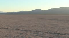 Dry Lake -Pan Stock Footage