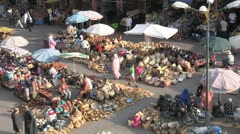 Marrakech Spice Market Stock Footage
