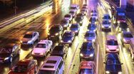 HD: city traffic, Time lapse Stock Footage