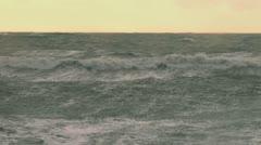 Alaskan Storms - Raging Seas - stock footage