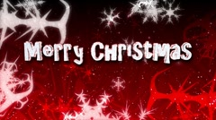 Christmas Background - Merry Christmas 06 (HD) Stock Footage