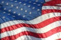 High Speed Camera USA Flags 45 Slow Motion Loop Footage