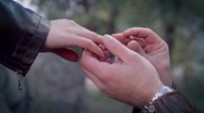 Stock Video Footage of Engagement Scene
