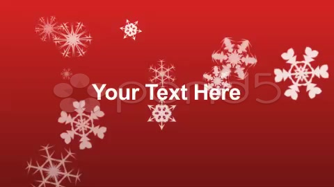 After Effects Project - Pond5 Holiday Snowflakes with Custom Text 8968952