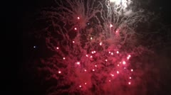Firework Display 3 Stock Footage