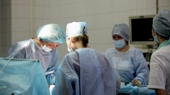 operating room - stock footage