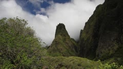 Maui, Iao Needle Stock Footage