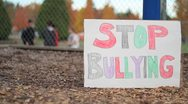 Stock Video Footage of Students Bullying Another Student On School Yard