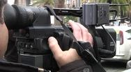 Stock Video Footage of Camera And Cameraman