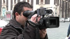 Cameraman - stock footage