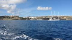 Island of Gozo Stock Footage