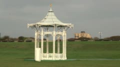 Bandstand at Southsea Stock Footage