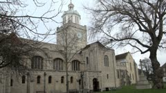 Portsmouth Cathedral Stock Footage