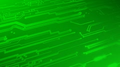 Circuit Board Sweep Stock Footage